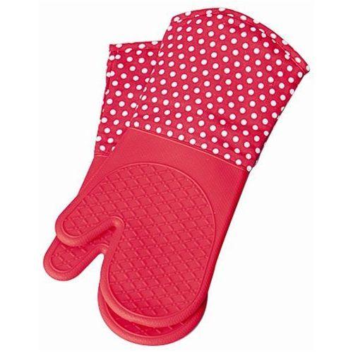 Silikonowe rękawice kuchenne - 2 sztuki w komplecie, WENKO, B007JU1IQE