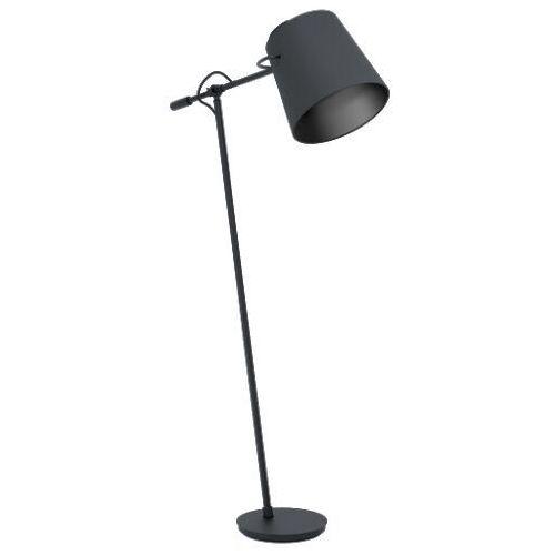 Eglo Granadillos 39867 lampa stojąca podłogowa 1x40W E27 czarna