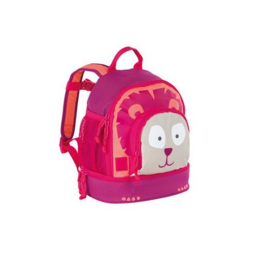 Lässig mini wildlife lion plecak pink