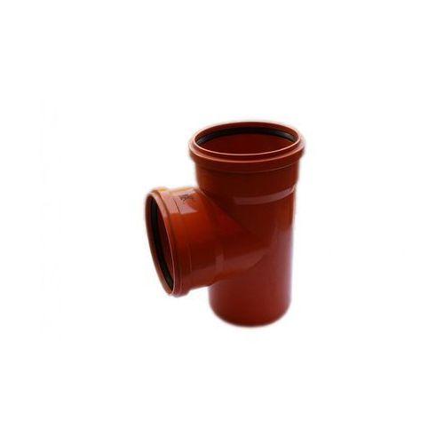 Poliplast Trójnik kanalizacji zewnętrznej 200 x 200 mm/90° (5907660708749)