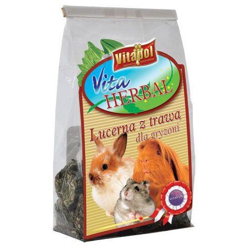 herbal lucerna z trawą dla gryzoni 150g marki Vitapol