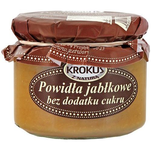 Powidła Jabłkowe Bez Dodatku Cukru 310g - Krokus (5906732624390)
