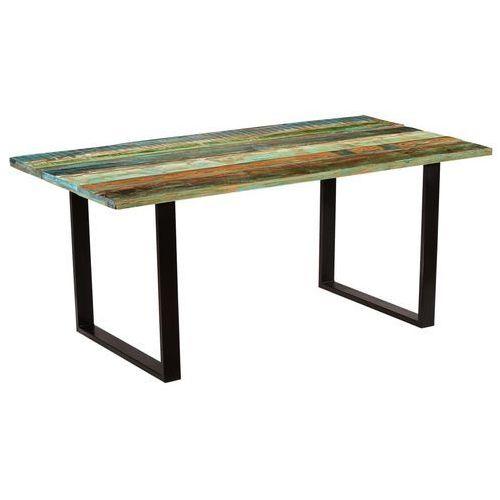 Stół jadalniany z drewna odzyskanego, 180 x 90 x 77 cm