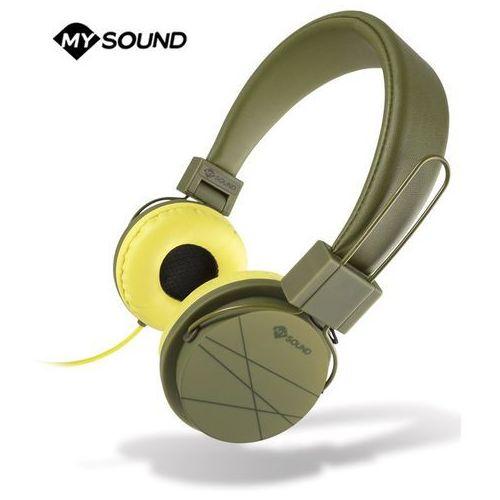 Słuchawki nauszne MELICONI Speak Street Zielono-żółty