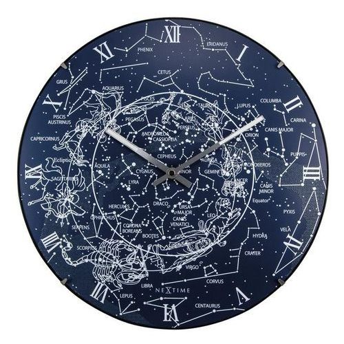 Zegar ścienny Milky Way Dome, 3165
