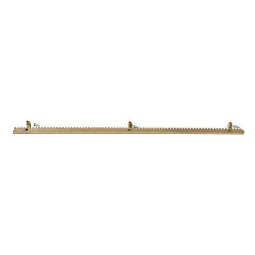 Listwa zębata stalowa szer.10 mm, dł. 1m z zamkiem marki Import