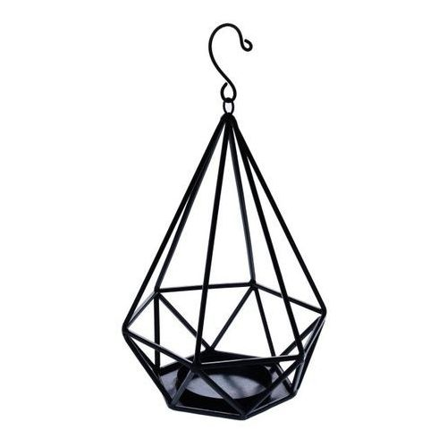 Lampion diament metalowy, 29453