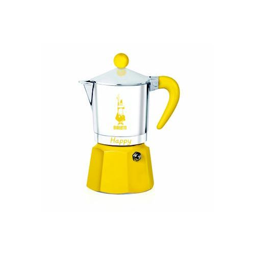 Bialetti / kawiarki / happy Bialetti happy yellow kawiarka 3 tz 3 filiżanki