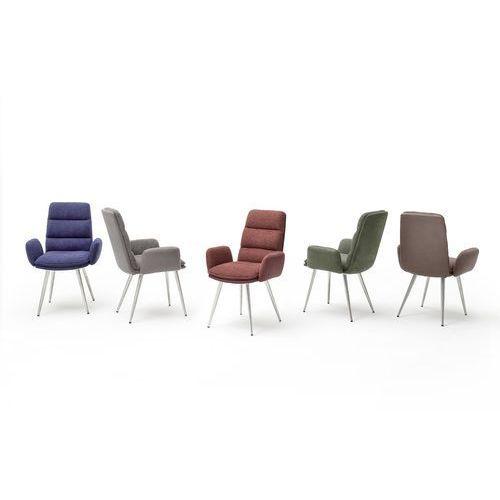 Krzesło FRIDA z podłokietnikiem tkanina 5 kolorów 63/64/97 cm