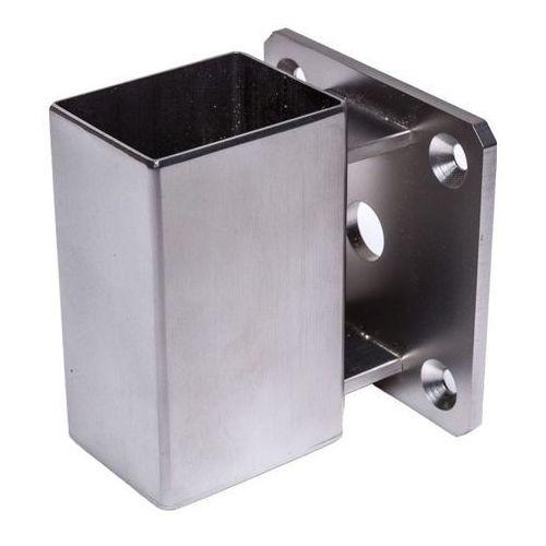 Mocowanie słupka Kornik nierdzewne 37 x 47 mm pionowe (5905156094307)