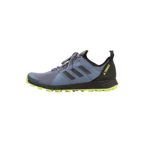 Adidas terrex Adidas performance terrex agravic speed obuwie do biegania szlak dark blue