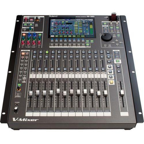 """m380 - bezwzględnie najlepszy cyfrowy mikser audio do racka -5% na pierwsze zakupy z kodem """"start""""! marki Roland"""