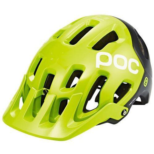Poc tectal kask rowerowy żółty 51-54cm 2018 kaski rowerowe (7325540775847)