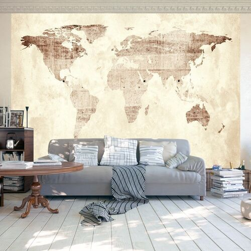 Artgeist Fototapeta - drogocenna mapa