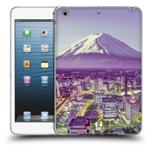 Etui silikonowe na tablet - najlepsze miejsca jokohama na tle góry fudżi marki Head case