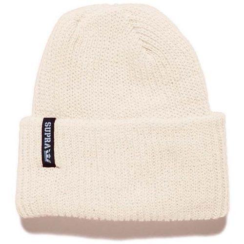 Czapka zimowa - presidio beanie off white (owt) rozmiar: os marki Supra