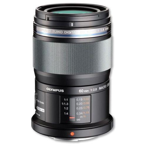 Obiektyw OLYMPUS M.Zuiko Digital ED 60mm 1:2.8 Macro (4545350041236)