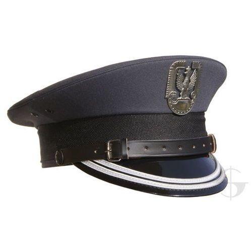 Czapka garnizonowa Sił Powietrznych z orzełkiem metalowym - oficer starszy