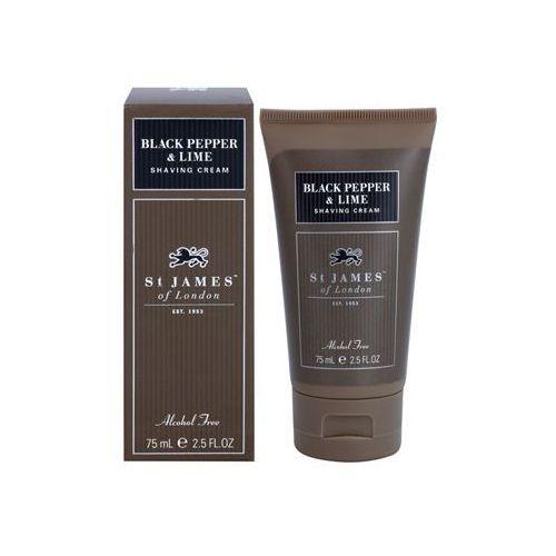 St. James Of London Pepper & Persian Lime krem do golenia dla mężczyzn 75 ml pakiet podróżny + do każdego zamówienia upominek.