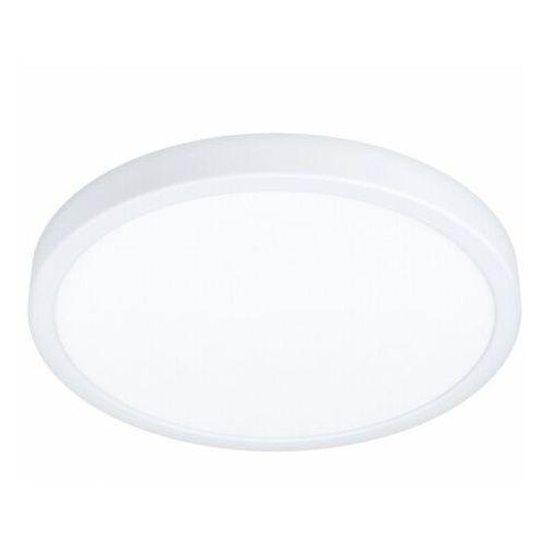 Eglo 99265 fueva 5 oprawa natynkowa stal biały / plastik biały h: 28 mm | Ø 285 mm plafon led