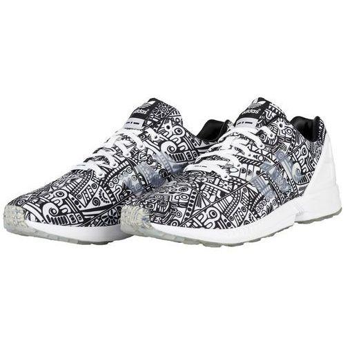 adidas Originals ZX FLUX Tenisówki i Trampki white/core black, w 7 rozmiarach