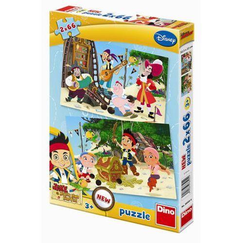 Neuveden Jake a piráti - puzzle 2 motivy v balení