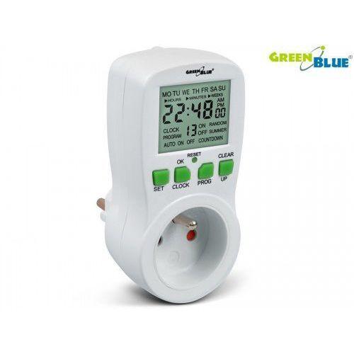 Greenblue timer cyfrowy gb107 greenblue 16 programów