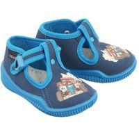 bambini termo/k niebieski, kapcie dziecięce z wkładką, rozmiary: 19-25 marki Viggami
