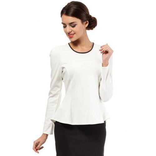 Bluzka MOE005 White, kolor biały