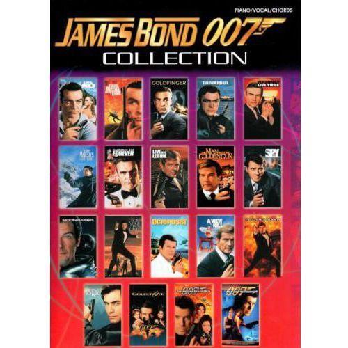 PWM Różni - James Bond 007 Collection (utwory na fortepian, wokal i gitarę)