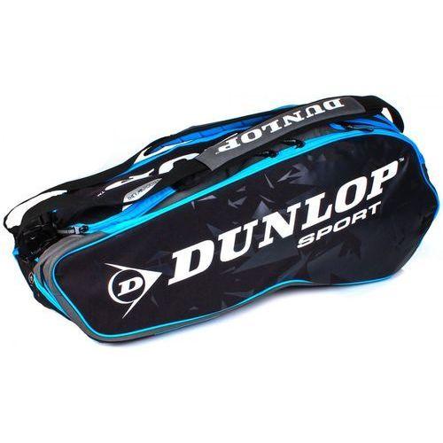 performance 8 racket bag black blue marki Dunlop
