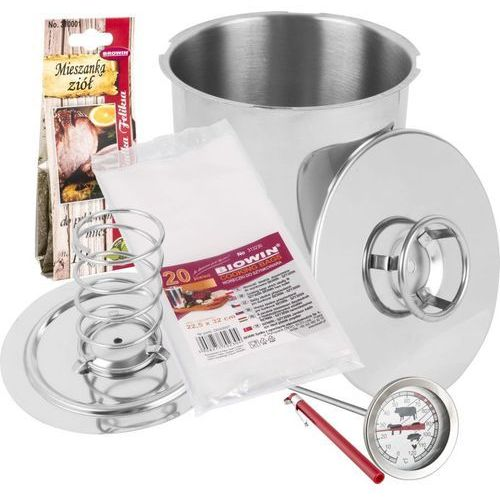 Biowin Szynkowar 3l kg.,termometr zioła i worki (5908277704193)