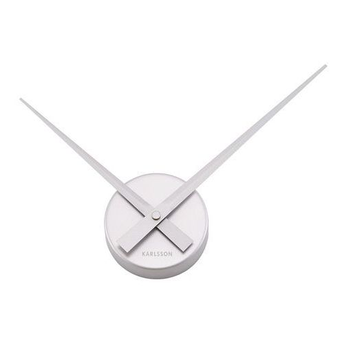 :: zegar little big time mini alu srebrny - srebrny marki Karlsson