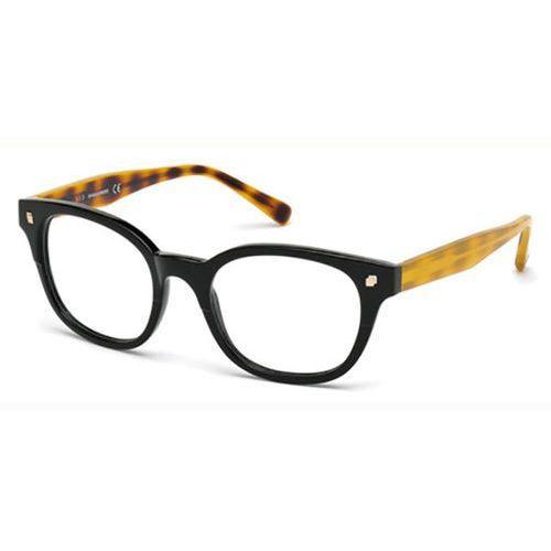 Okulary korekcyjne  dq5180 oxford 001 marki Dsquared2