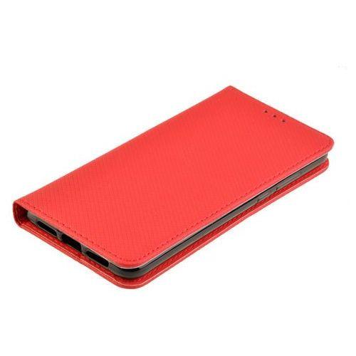 Etui Smart W2 do HUAWEI P20 czerwony - czerwony, kolor czerwony