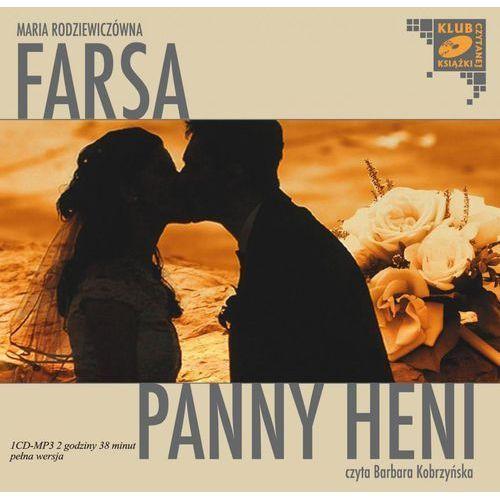 Farsa Panny Heni. Klub czytanej książki. Audiobook (1 CD-MP3), Maria Rodziewiczówna