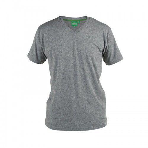 Duke Signature-d555 t-shirt męski szary duże rozmiary