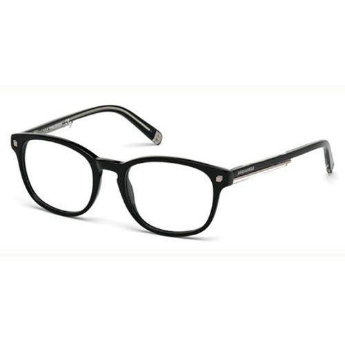 Dsquared2 Okulary korekcyjne  dq5177 birmingham 001