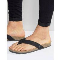 Original Penguin Toe Post Sandals - Black