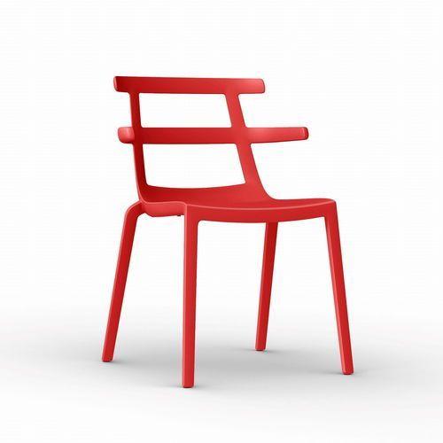 Resol Krzesło tokyo czerwone
