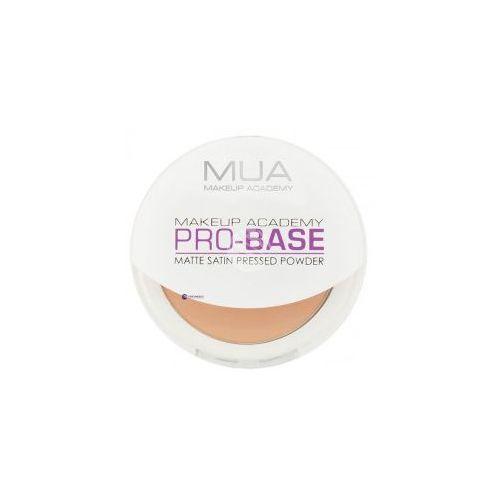 pro-base matte satin pressed powder (w) puder w kamieniu soft beige 6,5g marki Mua