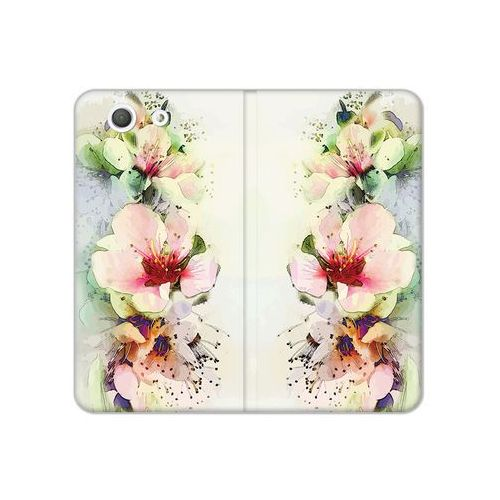 Sony Xperia Z3 Compact - etui na telefon Flex Book Fantastic - róże herbaciane, ETSN133FBFCFB004000
