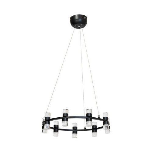 Lampa wisząca led florence 1 x 54 w czarna marki Milagro