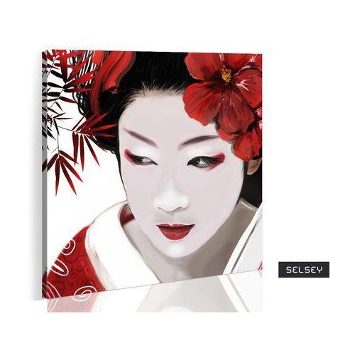 Selsey obraz - japońska gejsza 80x80 cm (5903025017402)