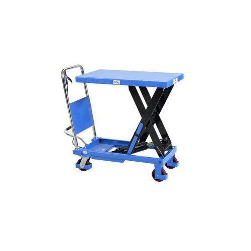 Nożycowy wózek podnośny,nośność 500 kg