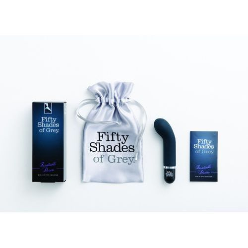 50 shades of grey - mini wibrator do punktu g - mini g-spot vibrator