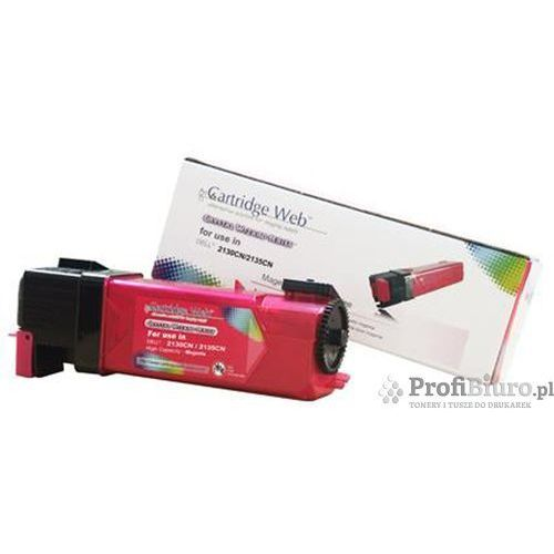 Cartridge web Toner cw-d2150mn magenta do drukarek dell (zamiennik dell 593-11033 / 2y3cm) [2.5k]