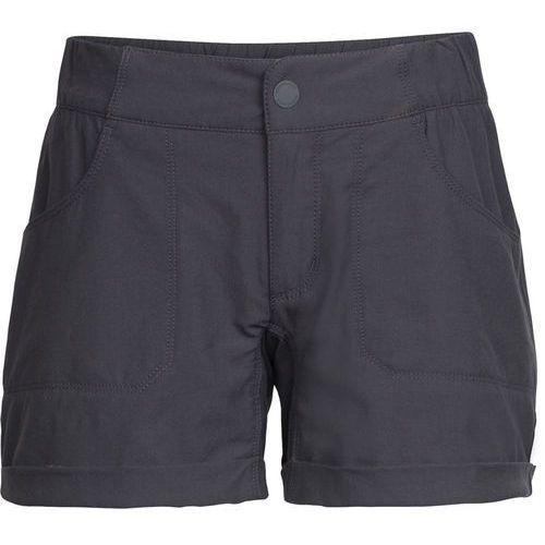 connection spodnie krótkie kobiety szary 33 2018 szorty codzienne, Icebreaker