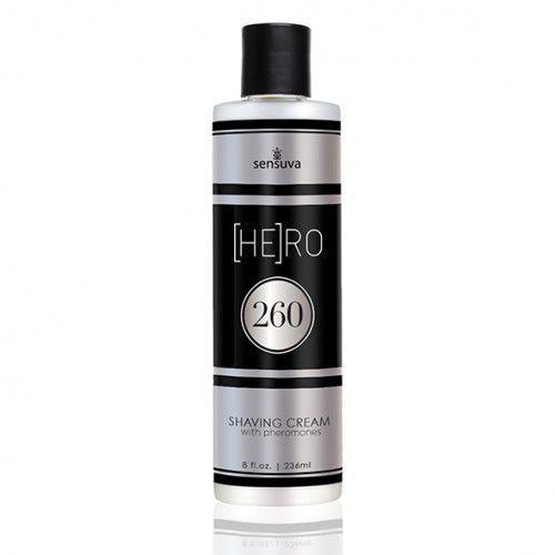 Krem do golenia dla panów - Sensuva HE(RO) 260 Male Pheromone Shave Cream 236 ml, SZ040A
