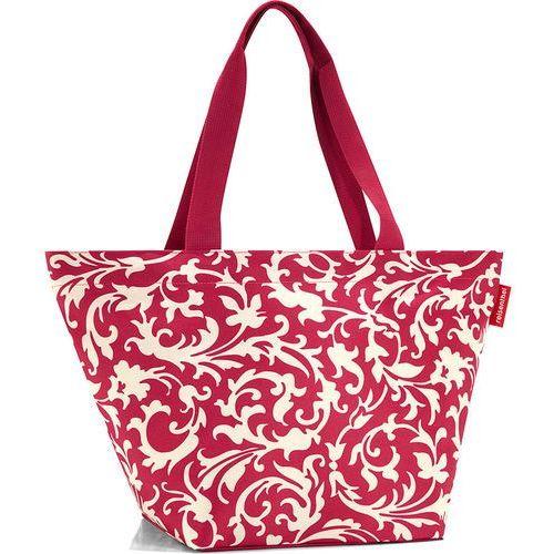 Torba na zakupy shopper m baroque ruby (rzs3033) marki Reisenthel